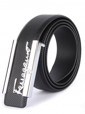 Cut Work Logo Belt