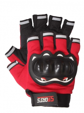 Pro Sports Gloves Red