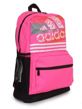 Stripe Backpack Pink