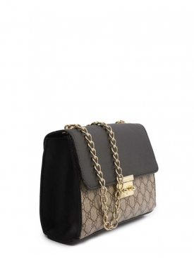 Padlock GG Bag - Black