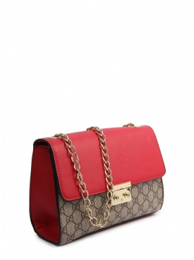 Padlock GG Bag - Red