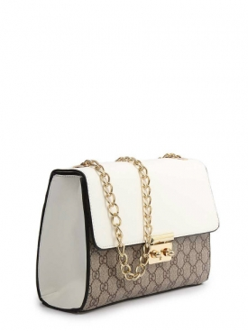Padlock GG Bag - White