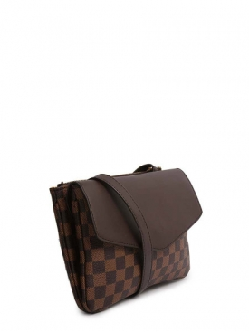 Damier Brown Canvas Bag