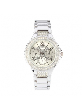 Crystal Dial Silver 005