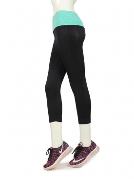Capri Tights 3901 BK/MNT