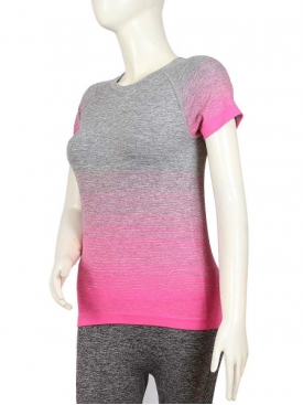 Pink Stripe T-Shirt GY