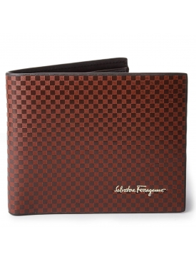 Checkered Texture Wallet