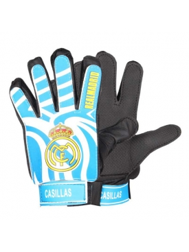 Real Madrid Gloves Blue